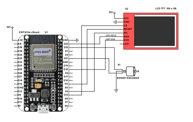 ESP32 TFT Thermostat - ProjectPages