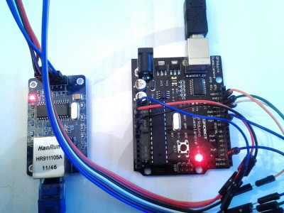 Arduino Ethernet - ProjectPages